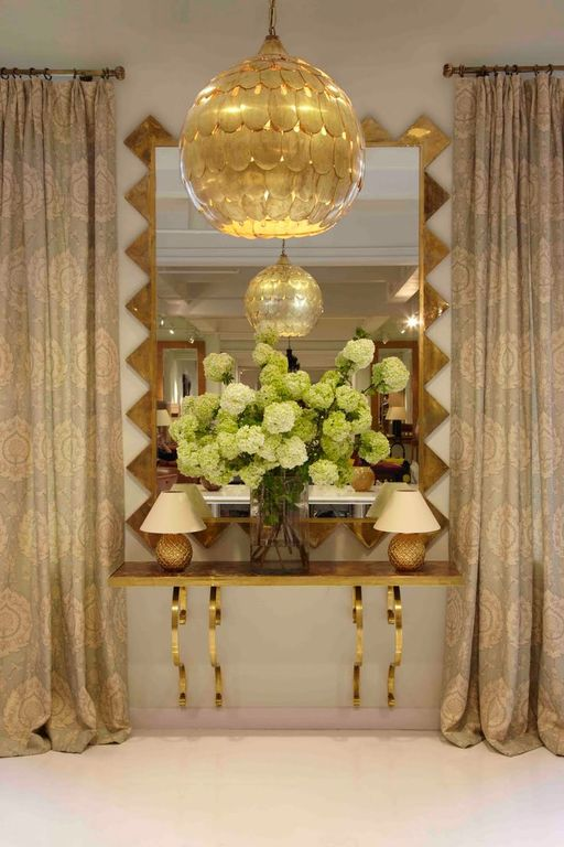 Eclectic Entryway with Standard height, Chandelier, Carpet