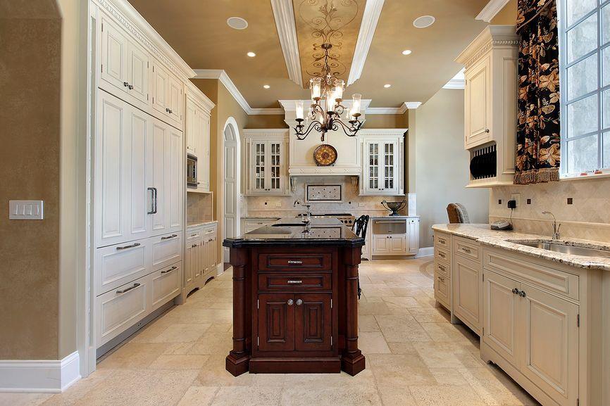 Stunning White Kitchen Cabinets Black Appliances