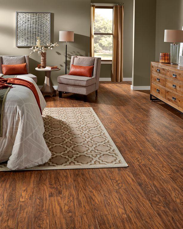 Traditional Master Bedroom with Davis Adjustable Column Floor Lamp, High ceiling, Hardwood floors, Highland Hickory, Carpet