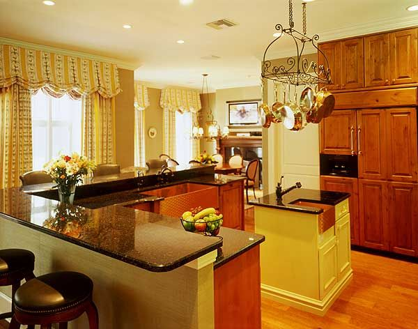 Traditional Kitchen With Specialty Door By Home