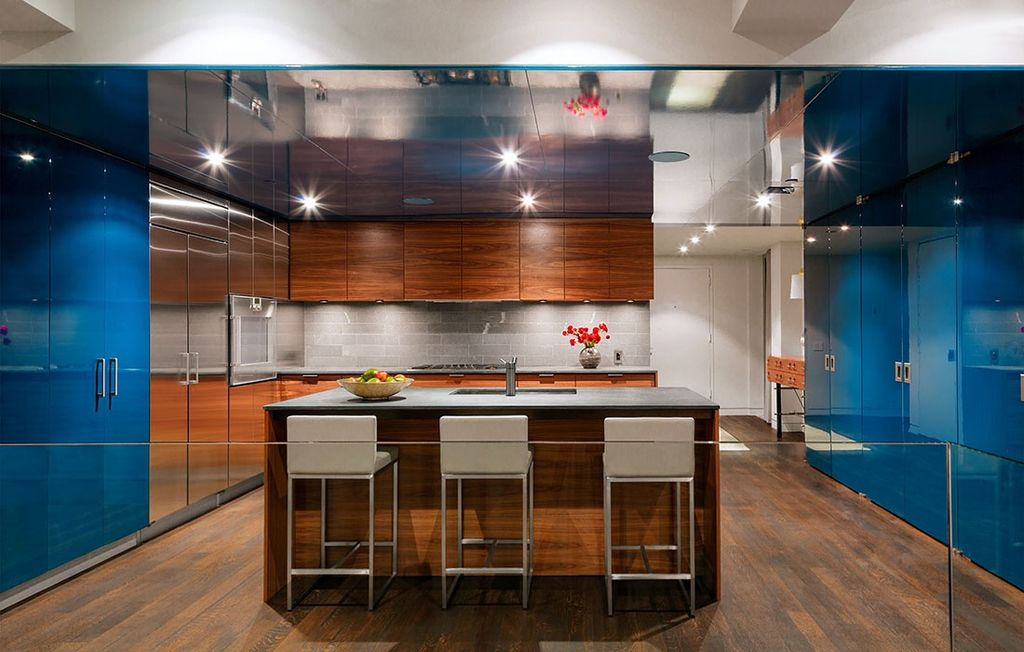 Contemporary Kitchen With European Cabinets By Design Development Nyc Zillow Digs