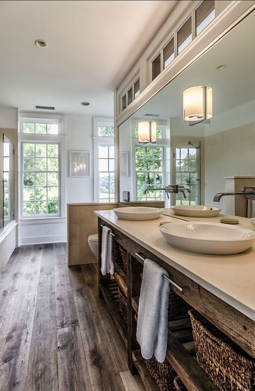 Eclectic Master Bathroom