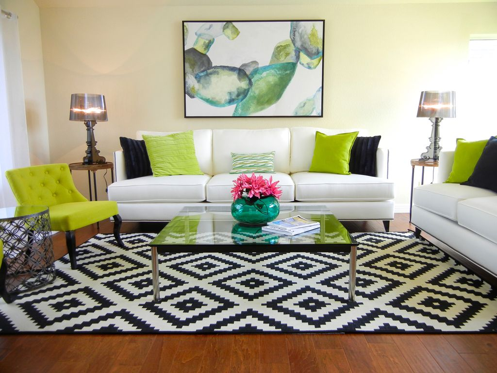 Living room with carpet by hyelee design staging ave for Z gallerie living room ideas