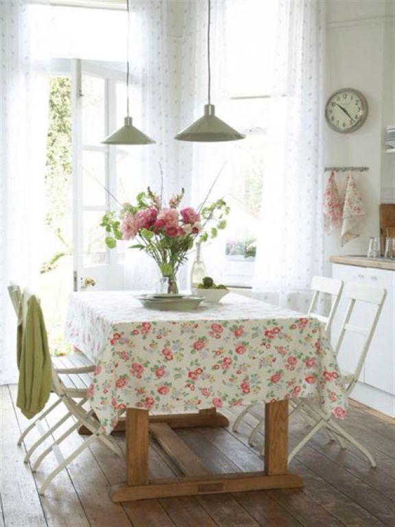Cottage Dining Room with Paint 1, Fermob bistro - duraflon chair (set of 2), Jvi designs union square 1 light pendant