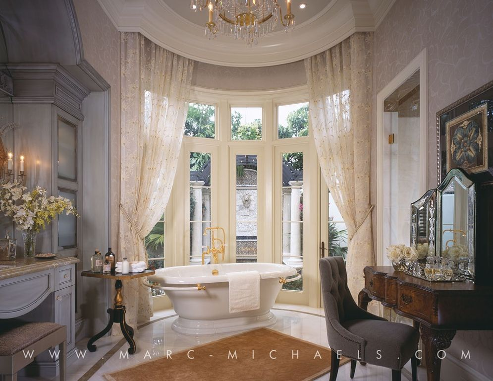 Traditional Master Bathroom with Flat panel cabinets, Undermount sink, frameless showerdoor, Cathedral ceiling, can lights