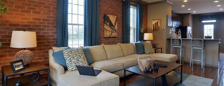"Traditional Living Room with Hammary 090-581 Hidden Treasures 44"" Metal Bar Stool, Paint, 3 Piece Custom Sectional Sofa"