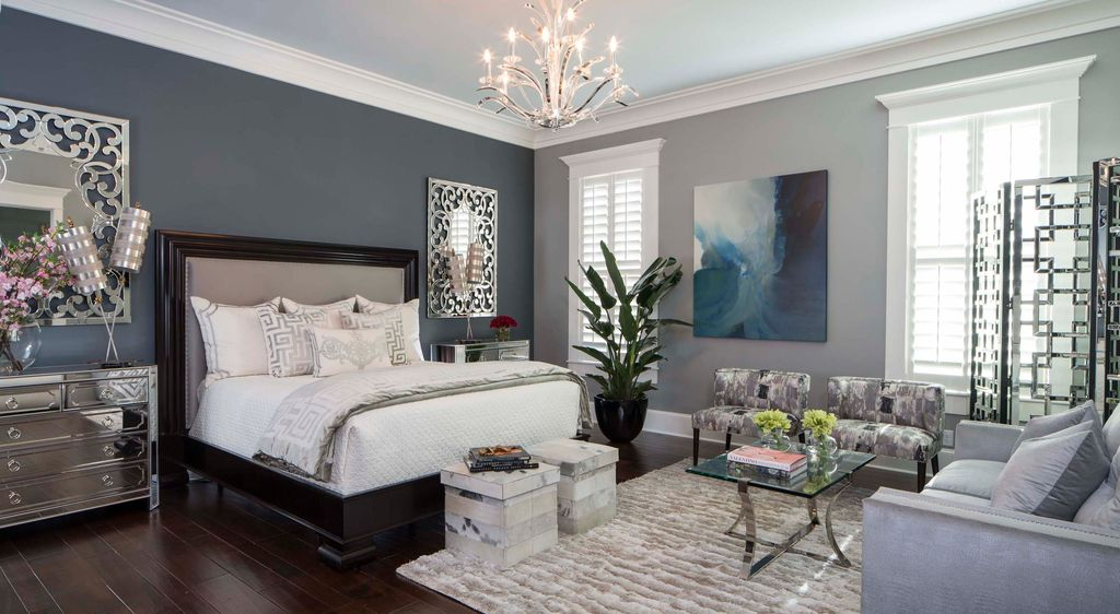 Transitional style tips on transitional room design for Main bedroom designs pictures