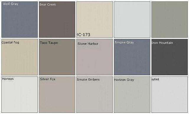 If Your Living Room Is A Wolf Gray What Color Should