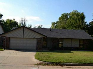 1400 Redwood Ter , Midwest City OK