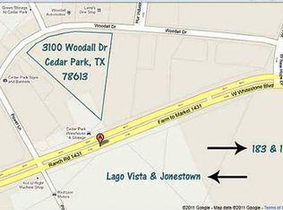 3100 Woodall Dr , Cedar Park TX
