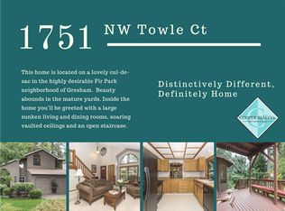 1751 NW Towle Ct , Gresham OR