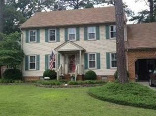726 Montebello Cir , Chesapeake VA
