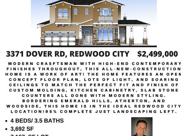 3371 Dover Rd, Redwood City, CA