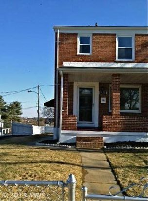 5437 Hilltop Ave, Baltimore, MD 21206