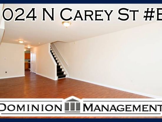1024 N Carey St # B, Baltimore, MD 21217