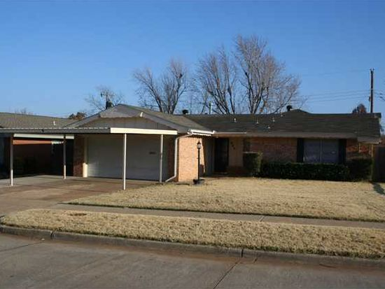 805 W Silver Meadow Dr, Midwest City, OK 73110