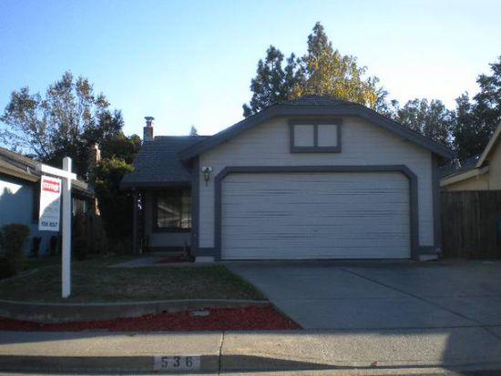 536 Eldridge Ave, Vacaville, CA 95688