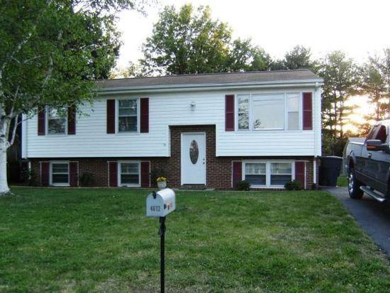 4612 Nelms Ln NE, Roanoke, VA 24019