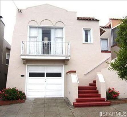 2331 28th Ave, San Francisco, CA 94116
