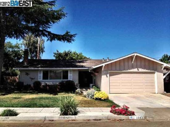 1143 Canton Ave, Livermore, CA 94550