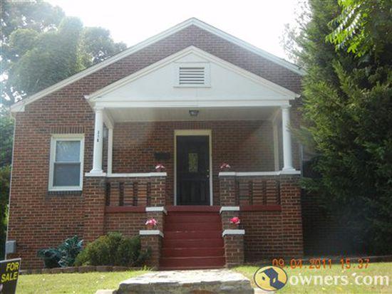318 W 5th St, Burlington, NC 27215