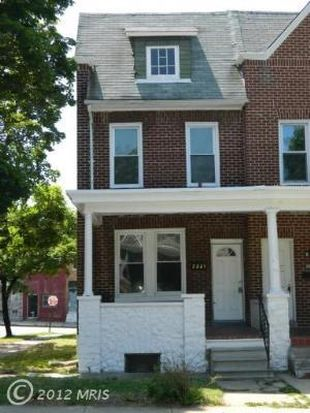 2221 Whittier Ave, Baltimore, MD 21217