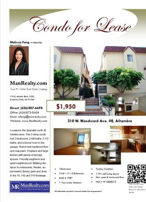 310 W Woodward Ave APT E, Alhambra, CA 91801