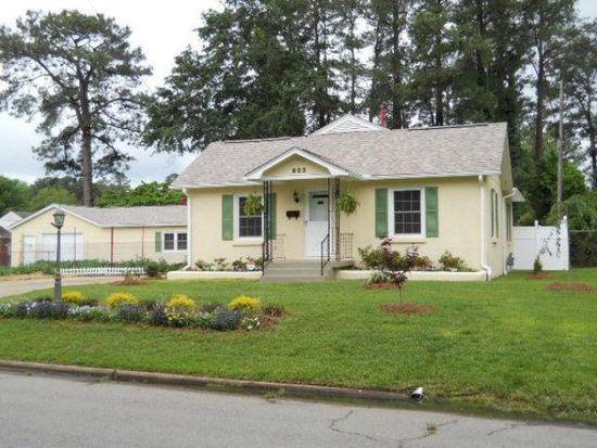 803 W 4th St, Roanoke Rapids, NC 27870