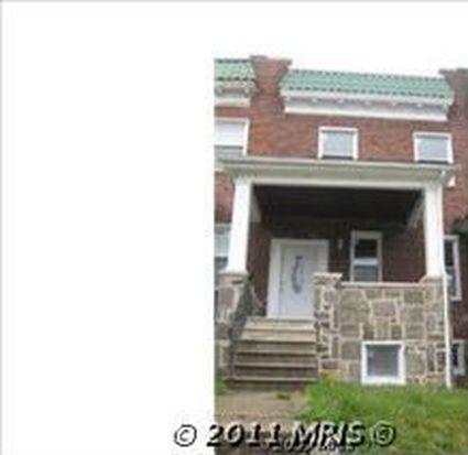 3322 Mondawmin Ave, Baltimore, MD 21216