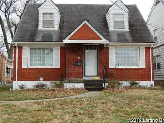 114 E Tenny Ave, Louisville, KY 40214