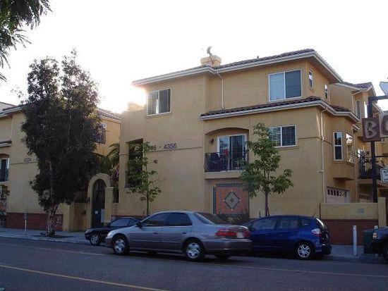 4356 30th St, San Diego, CA 92104