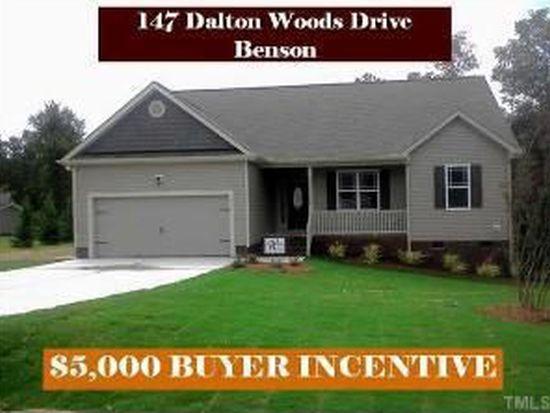147 Dalton Woods Dr, Benson, NC 27504