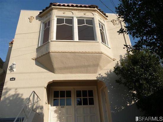 218 Monticello St, San Francisco, CA 94132