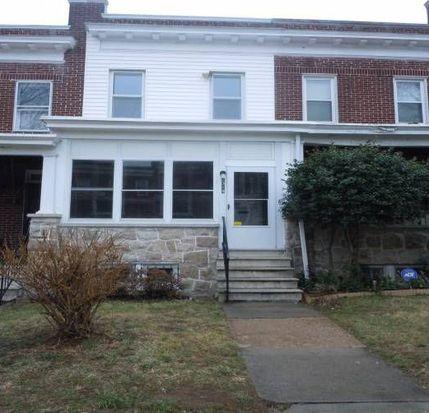 2319 N Longwood St, Baltimore, MD 21216