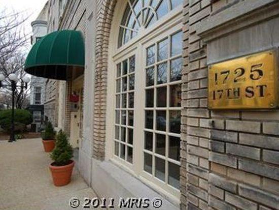 1725 17th St NW APT 410, Washington, DC 20009