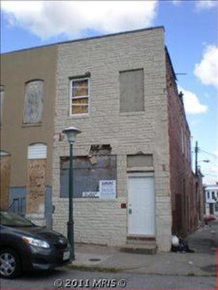 601 N Glover St, Baltimore, MD 21205