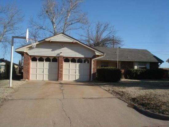 3444 N Glenvalley Dr, Midwest City, OK 73110
