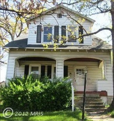 3230 Montebello Ter, Baltimore, MD 21214