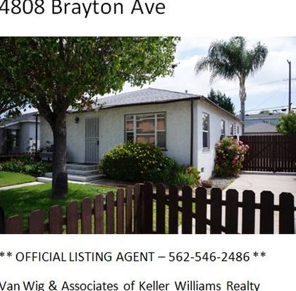 4808 Brayton Ave, Long Beach, CA 90807