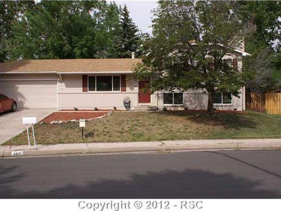 4817 Sprucewood Dr, Colorado Springs, CO 80918