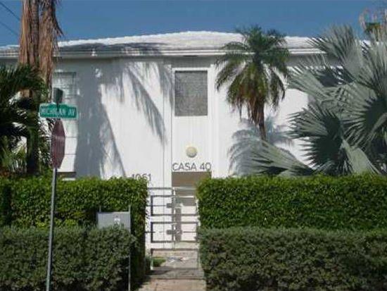 1061 Michigan Ave APT 1, Miami Beach, FL 33139