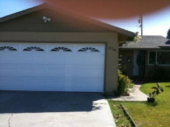 878 Cotton Tail Ave, San Jose, CA 95116