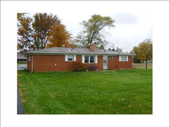 1755 W 400 N, Greenfield, IN 46140