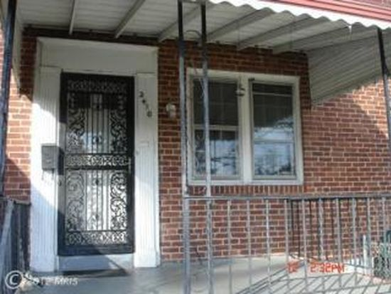 2410 Shirley Ave, Baltimore, MD 21215