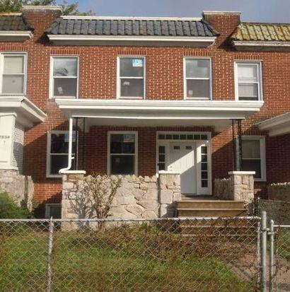 2532 Quantico Ave, Baltimore, MD 21215