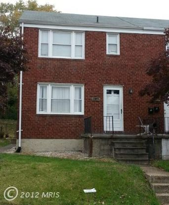 3804 Cedarhurst Rd, Baltimore, MD 21206