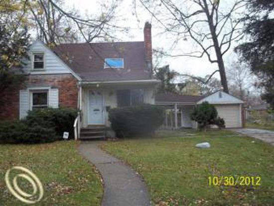 14321 Piedmont St, Detroit, MI 48223