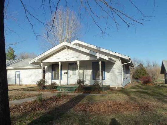 601 N Carr Ave, Wynnewood, OK 73098