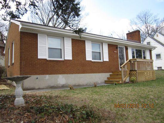 3518 Barberry Ave NW, Roanoke, VA 24017