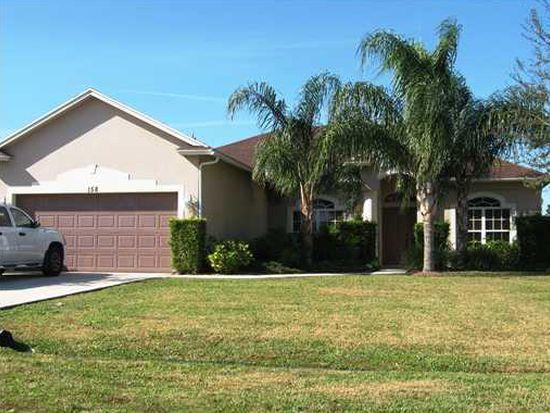 158 NW Carmelite St, Port St Lucie, FL 34983
